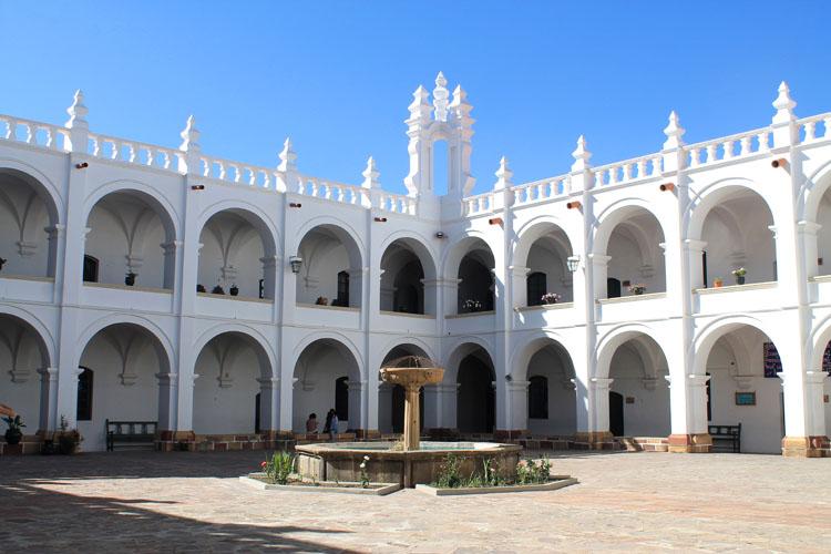 Church of San Felipe Neri in Sucre, Bolivia
