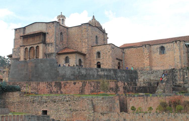 Quricancha -- Inca ruins in Cusco, Peru
