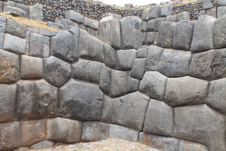 Saqsaywaman; Inca ruins in Cusco, Peru