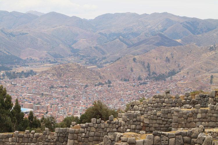 Saqsaywaman, Inca ruins in Cusco, Peru
