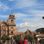 Spanish Style and Inca Ruins in Cusco, Peru