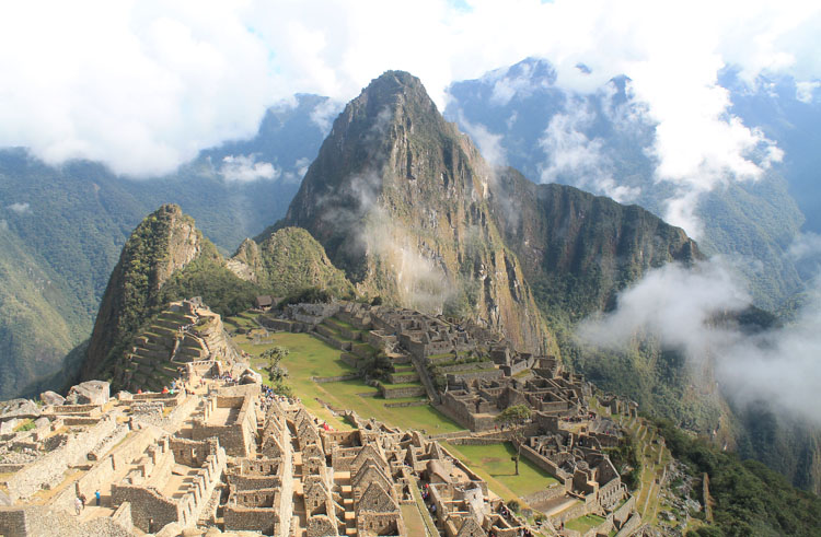Machu Picchu, Peru - one of the 7 wonders of the world