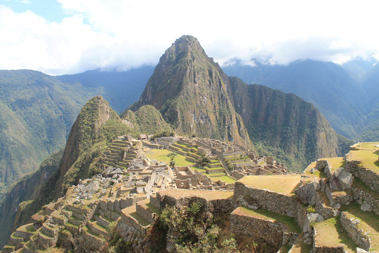 Stunning natural wonders in South America -- Machu Picchu