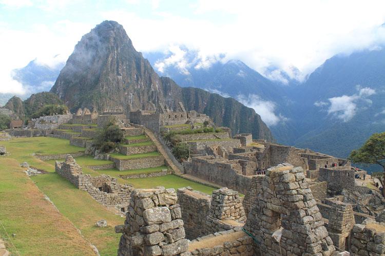 Wonder of the world Machu Picchu, Peru