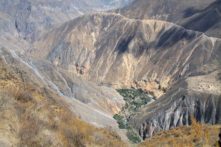 Stunning natural wonders in South America -- Colca Canyon, Peru