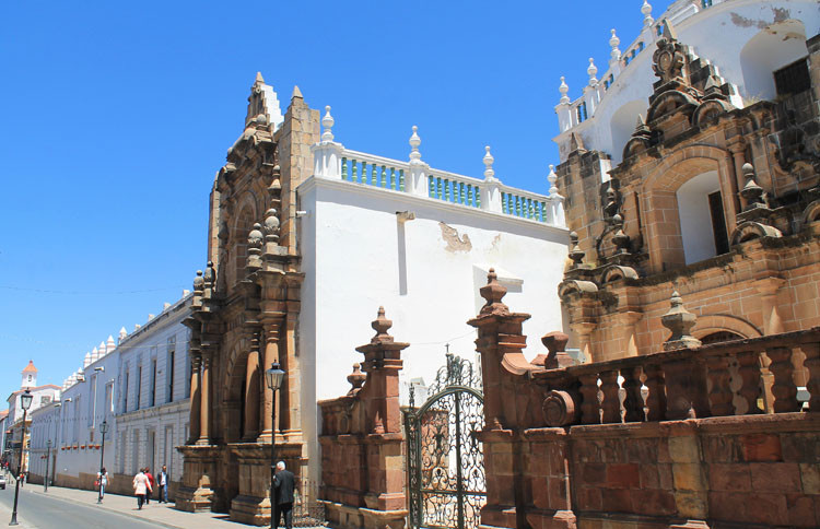 Sucre, a beautiful colonial city in Bolivia