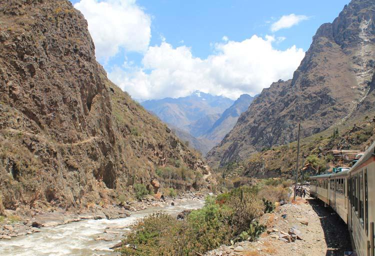 Inca Rail train to Machu Picchu, Peru