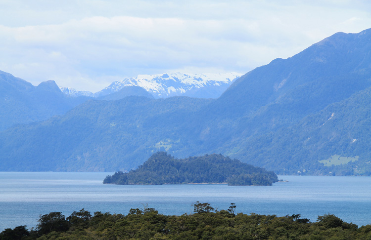Lago Todos los Santos near Puerto Varas, Chile