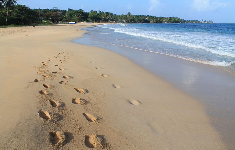 Best beaches in Central America - Long Beach, Big Corn Island, Nicaragua