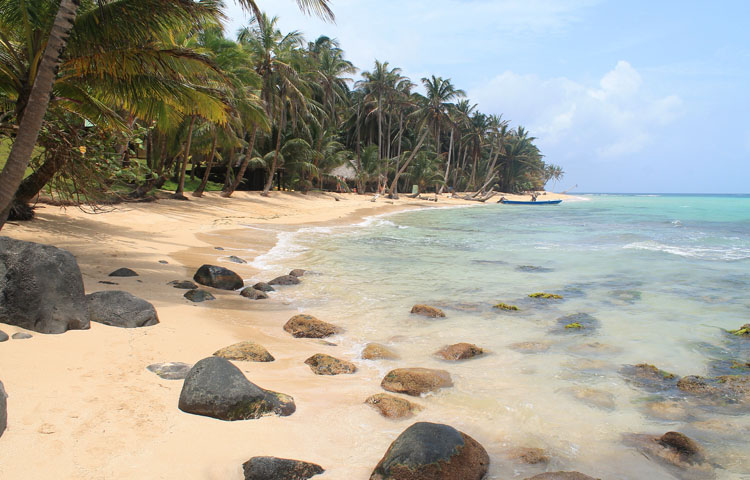 Best beaches in Central America - Otto Beach, Little Corn Island, Nicaragua
