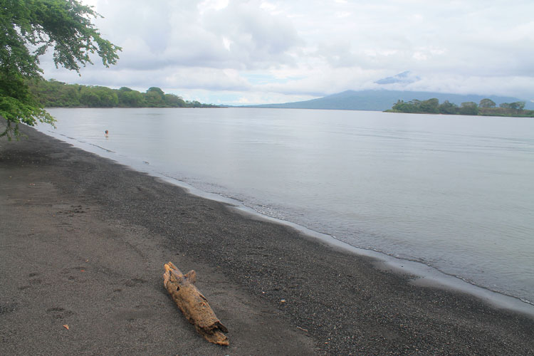 Best beaches in Central America - Playa Bancon, Ometepe Island, Nicaragua