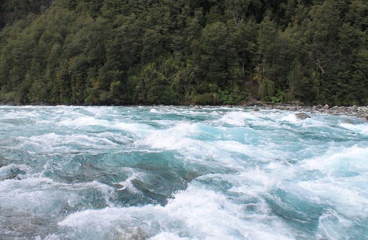 Petrohue waterfalls, Puerto Varas, Chile