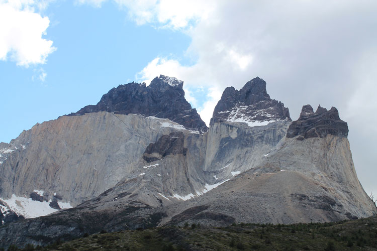 The W Trek, Torres del Paine National Park: Cuernos peaks
