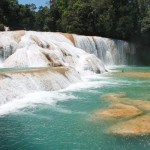 Waterfalls and Pyramids in Mexico: A Day Trip to Agua Azul and Palenque