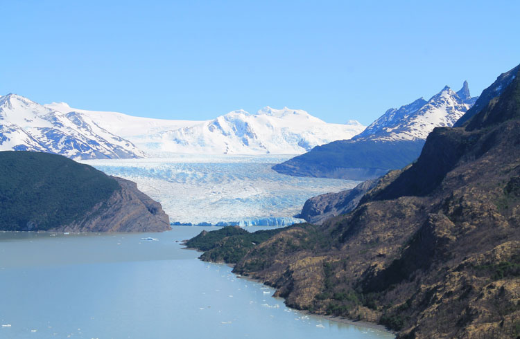 The W Trek, Torres del Paine National Park: Mirador Grey Glacier