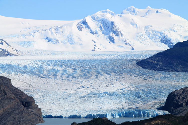 Stunning natural wonders in South America -- Grey Glacier, Chile