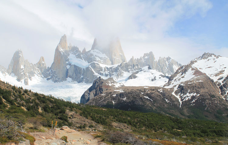 Stunning natural wonders in South America -- Mount Fitz Roy, Argentina
