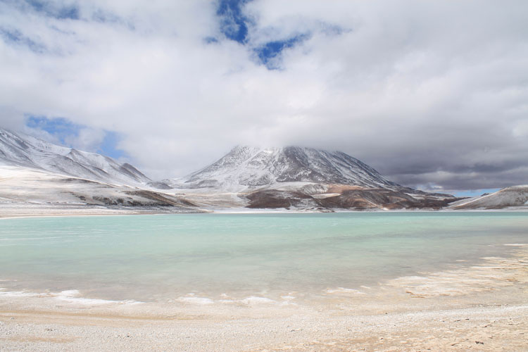 Stunning natural wonders in South America -- Laguna Verde, Bolivia