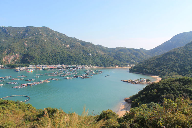 Backpacking in Hong Kong: Hiking on Lamma Island