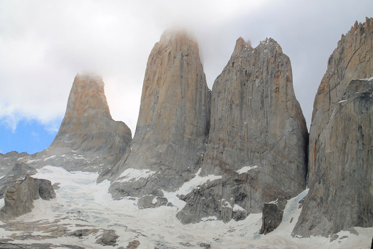 The W Trek, Torres del Paine National Park: The 4 towers