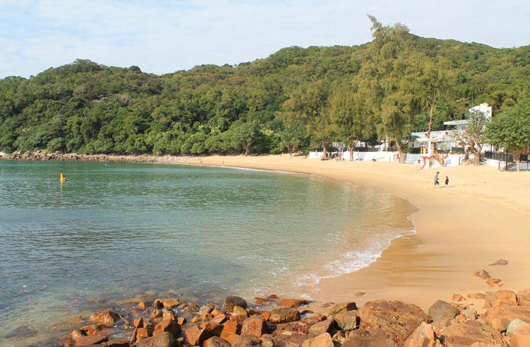 The best beaches in Hong Kong: Lo So Shing Beach Lamma Island