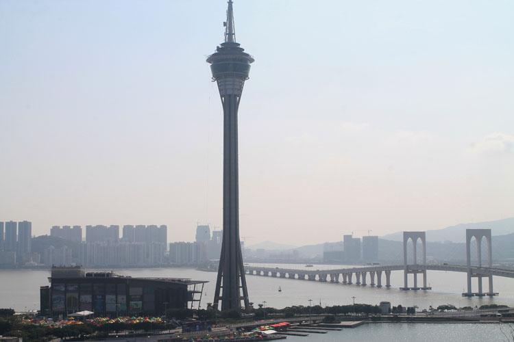 A day trip to Macau: Macau Tower
