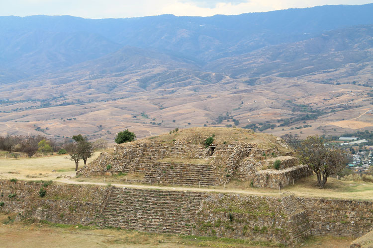 Two days in Oaxaca, Mexico: Monte Alban view