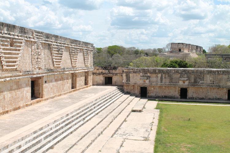 The Nunnery, Uxmal, Mexico