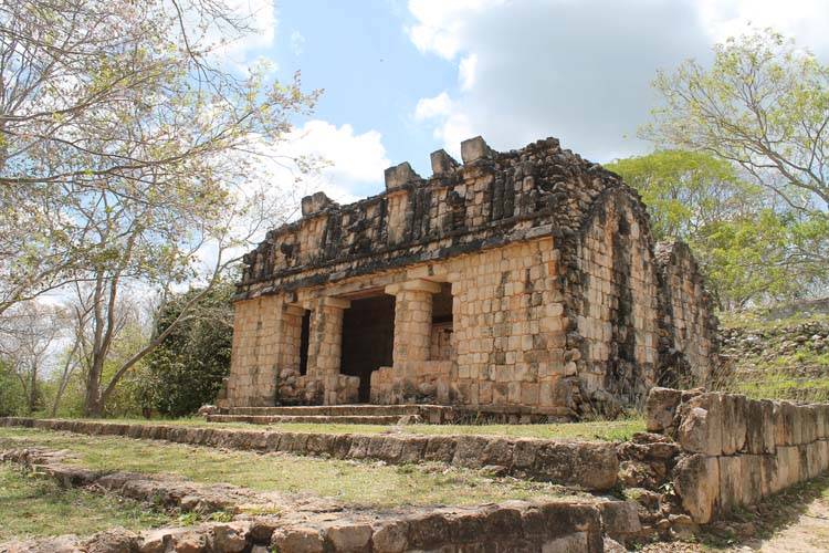 The Uxmal Maya ruins in Mexico
