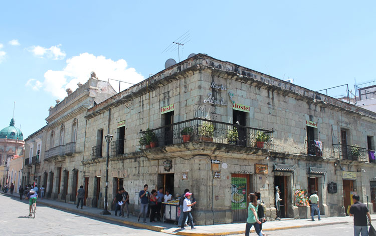 Two days in Oaxaca, Mexico: A busy street corner