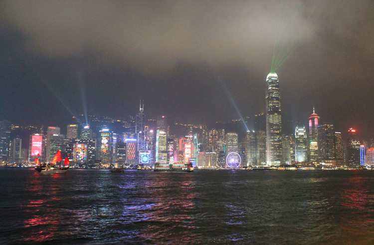 Backpacking in Hong Kong: The Symphony of Lights