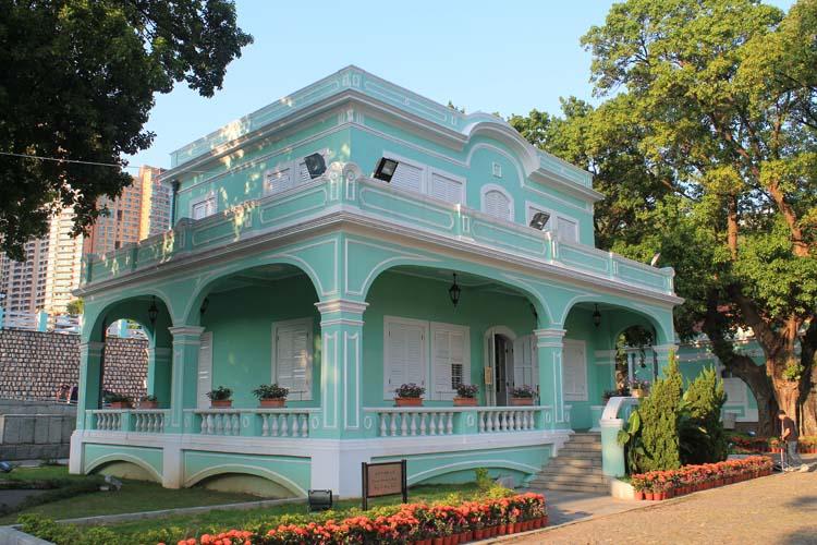 A day trip to Macau: Tai Pa Houses Musuem