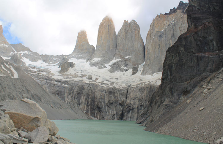 Stunning natural wonders in South America -- Torres del Paine, Chile