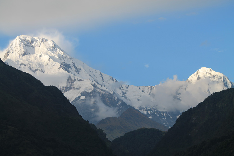 The 4 day Poon Hill Trek, Nepal : Ulleri Village, Annapurna Range