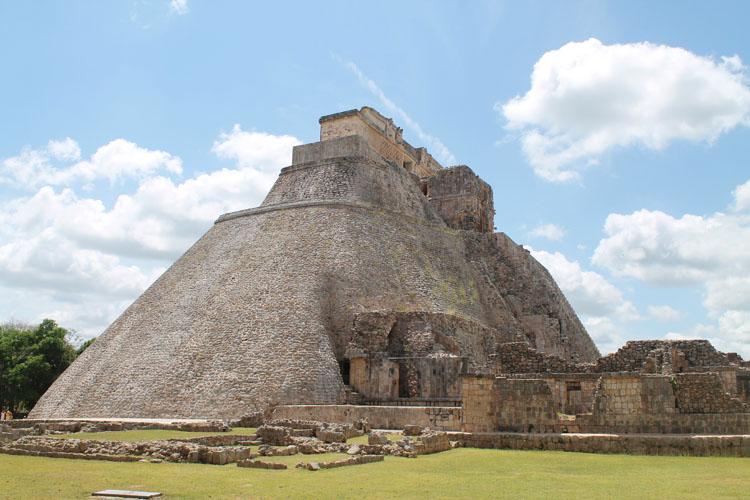 Uxmal, Mexico: Pyramid of the Magician
