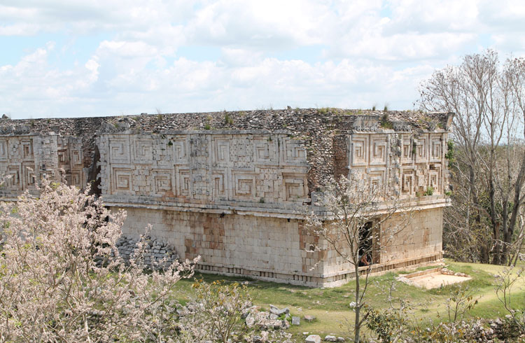 The Governor's Palace at the Uxmal archaeological site, Mexico