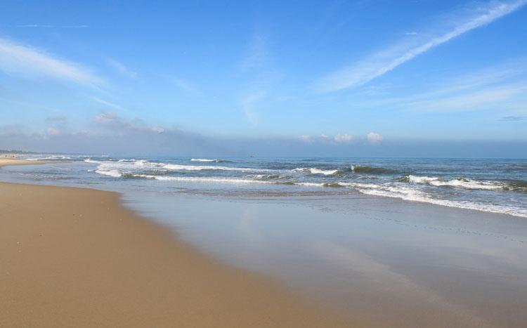 An Bang Beach, the best of the beaches in Hoi An, Vietnam