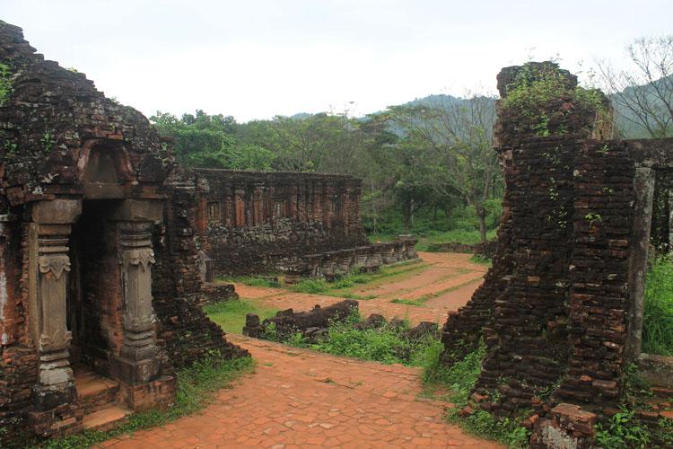 My Son ruins, Vietnam -- Cham history near Hoi An