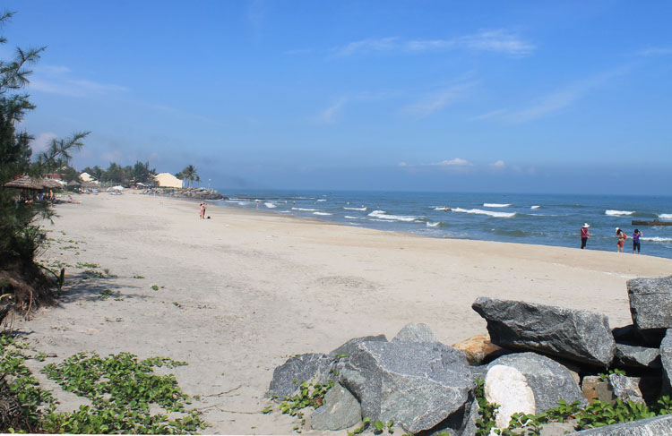 Cai Dau Beach, there are better beaches in Hoi An, Vietnam!