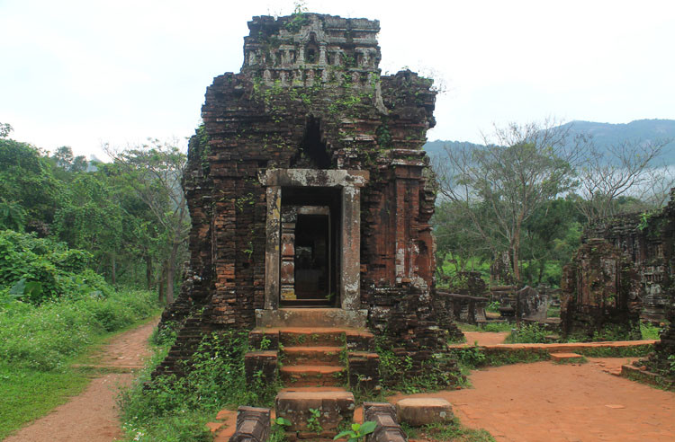My Son ruins, Vietnam -- a historical day trip from Hoi An