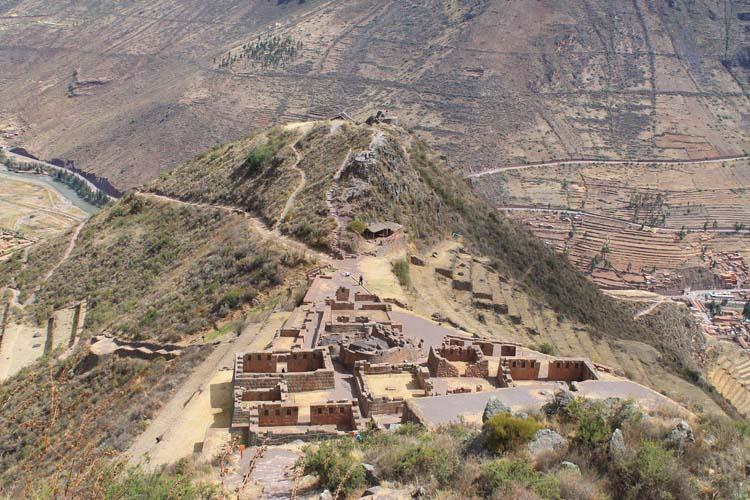 Pisac ruins near Cusco, Peru