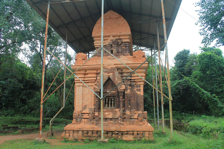 My Son ruins, Vietnam -- a covered / restored tower