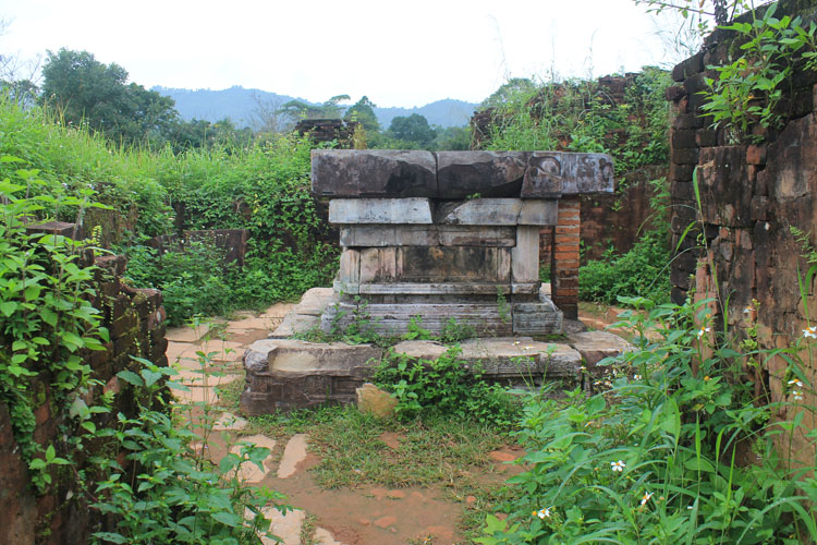 My Son ruins, Vietnam -- a jungle alter