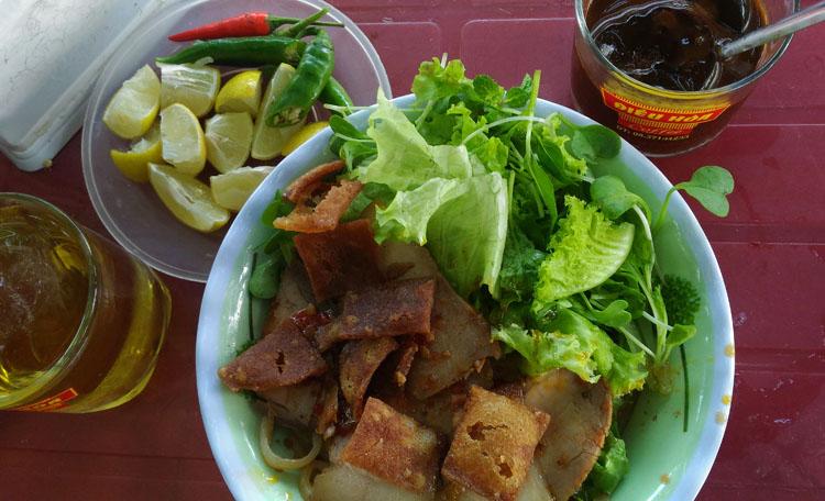 Hoi An Ancient Town, Vietnam -- cau lau noodles