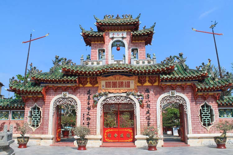 Hoi An Ancient Town, Vietnam -- Fukian Assembly Hall