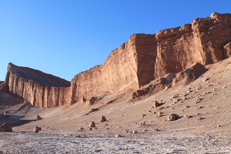 The Valley of the Moon (Valle de la Luna) in Chile