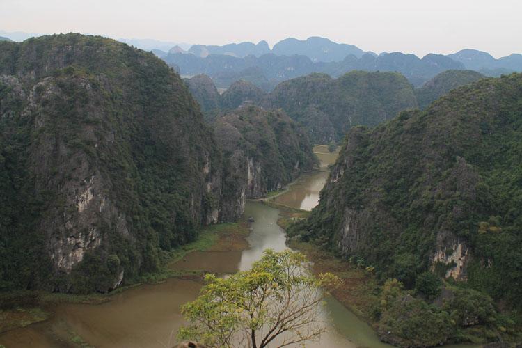 A tour to Trang An Grottos and Mua Cave, near Ninh Binh, Vietnam