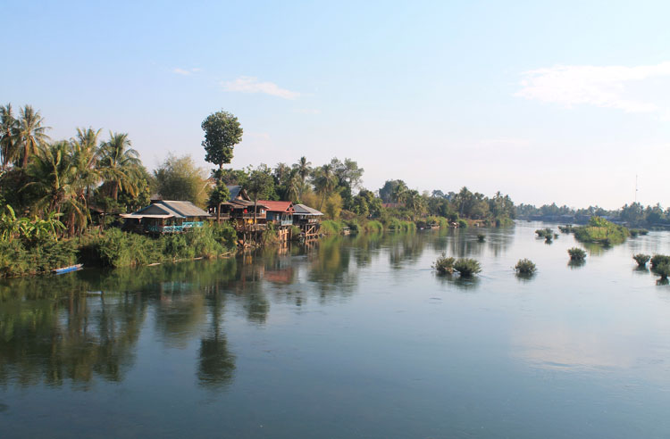 A 3 day Mekong River cruise in southern Laos -- Don Det