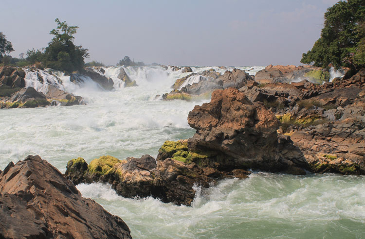 A 3 day Mekong River cruise in southern Laos -- up close to the Khone Phapheng Falls