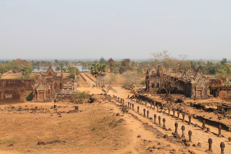A 3 day Mekong River cruise in southern Laos -- Vat Phou ruins
